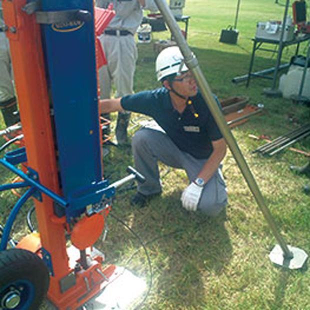 液状化地盤の調査手法PDCの導入(ピエゾ・ドライブコーン試験)